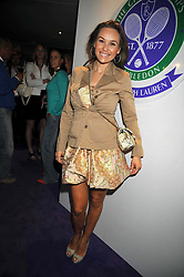 Gabriella Cilmi at The Ralph Lauren Sony Ericsson WTA Tour Pre-Wimbledon Party hosted by Richard Branson at The Roof Gardens, London on June 18, 2009