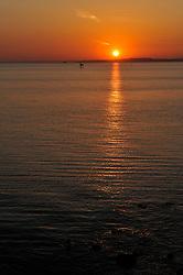 Sunset at the opening ceremony. Photo: Chris Davies/WMRT