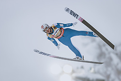 10.12.2020, Planica Nordic Centre, Ratece, SLO, FIS Skiflug Weltmeisterschaft, Planica, Einzelbewerb, Qualifikation, im Bild Daniel Andre Tande (NOR) // Daniel Andre Tande of Norway during the qualification for the men individual competition of FIS Ski Flying World Championship at the Planica Nordic Centre in Ratece, Slovenia on 2020/12/10. EXPA Pictures © 2020, PhotoCredit: EXPA/ JFK
