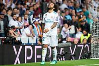 Real Madrid Marcelo during Semi Finals UEFA Champions League match between Real Madrid and Bayern Munich at Santiago Bernabeu Stadium in Madrid, Spain. May 01, 2018. (ALTERPHOTOS/Borja B.Hojas)