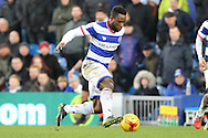 Queens Park Rangers midfielder Kazenga LuaLua (28) dribbling during the EFL Sky Bet Championship match between Queens Park Rangers and Burton Albion at the Loftus Road Stadium, London, England on 28 January 2017. Photo by Matthew Redman.