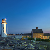 Massachusetts lighthouses blue hour photography artworks of Scituate Lighthouse in Scituate, Massachusetts.<br /> <br /> New England lighthouse photography images of the Scituate Lighthouse are available as museum quality photography prints, canvas prints, acrylic prints, wood prints or metal prints. Fine art prints may be framed and matted to the individual liking and interior design decorating needs.<br /> <br /> Good light and happy photo making!<br /> <br /> My best,<br /> <br /> Juergen