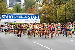 Tufts Health Plan 10K for Women, start of race
