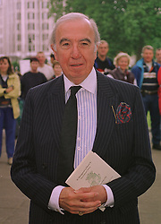 LORD ST.JOHN OF FAWSLEY at a memorial service in London on 15th July 1998.<br /> MJC 10