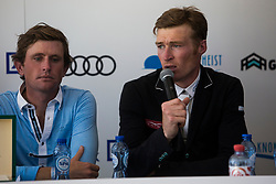 Whitaker William, GBR, Darragh Kenny, IRL, <br /> Knokke Hippique 2018<br /> © Hippo Foto - Sharon Vandeput<br /> 1/07/18