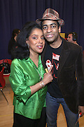 """Phylicia Rashad and Daniel Breaker, at """" Cat on a Hot Tin Roof """" Press conference announcing limited broadway run,  at Broad Hurst Theater on January 8, 2008 in New York City"""