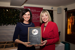 Cork Institute of Technology, Dept of Languages Tourism & Hospitality<br /> 1.Eibhlin O'Leary. Training & Compliance Manager, Food Safety Authority of Ireland<br /> 2.Mary Daly, Chairperson, FSPA, collecting on behalf of CIT