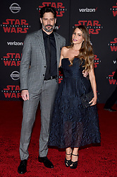Joe Manganiello, Sofia Vergara attend the world premiere of Disney Pictures and Lucasfilm's 'Star Wars: The Last Jedi' at The Shrine Auditorium on December 9, 2017 in Los Angeles, California. Photo by Lionel Hahn/ABACAPRESS.COM