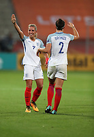 Football - 2017 UEFA Women's European [Euro] Championship - Group D: England vs. Scotland<br /> <br /> Jordan Nobbs of England celebrates scoring at Stadion Gagenwaard, Utrecht.<br /> <br /> COLORSPORT/LYNNE CAMERON