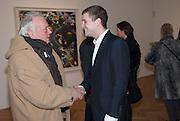 DAVID BAILEY; TYRONE WOOD, Panta Rhei. An exhibition of work by Keith Tyson. The Pace Gallery. Burlington Gdns. 6 February 2013.