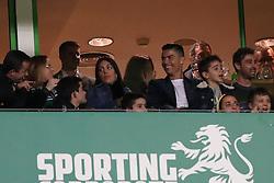 February 3, 2019 - Lisbon, Portugal - Portugal's and Juventus' forward Cristiano Ronaldo and Georgina Rodriguez attend the Portuguese League football match Sporting CP vs SL Benfica at Alvalade stadium in Lisbon, Portugal on February 3, 2019. (Credit Image: © Pedro Fiuza/ZUMA Wire)