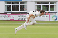 David Payne during the Specsavers County Champ Div 2 match between Leicestershire County Cricket Club and Gloucestershire County Cricket Club at the Fischer County Ground, Grace Road, Leicester, United Kingdom on 18 June 2019.