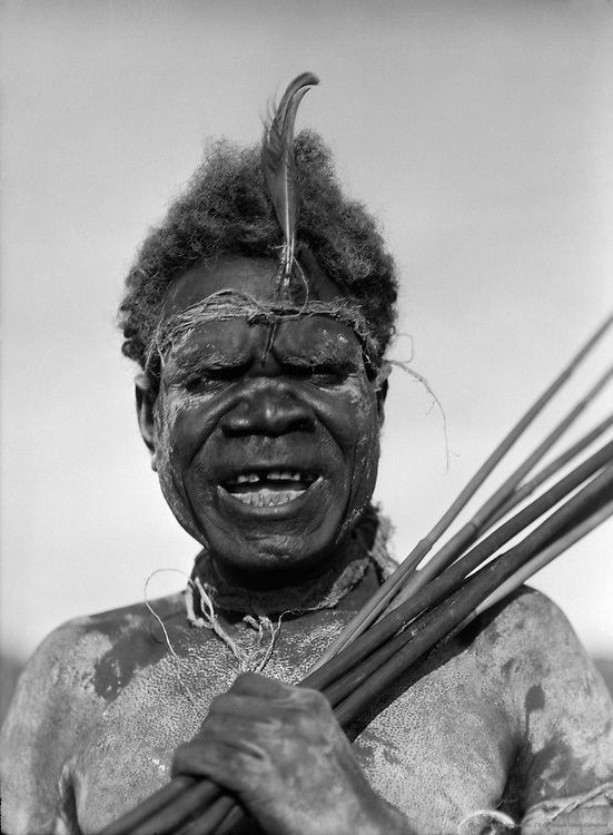 Aboriginal Tribesman, Palm Island, Queenland, 1930