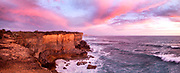 Port Campbell Rough Seas on Sunset<br /> <br /> <br /> Pic Steve Ryan