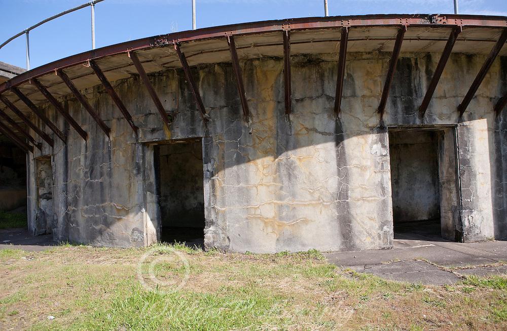 Fort Stevens round section
