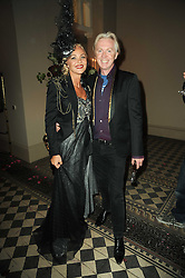 PHILIP TREACY and AMANDA ELIASCH at 'Superficial Butterfly' a party hosted by Amanda Eliasch to celebrate her 50th birthday held at Number One Mayfair (St Marks Church) North Audley Street, London on 12th May 2010.