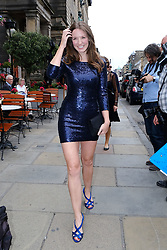 Edinburgh International Film Festival 2019<br /> <br /> Robert The Bruce (World Premiere) afterparty<br /> <br /> Pictured: Mhairi Calvary arrives at the afterparty<br /> <br /> Aimee Todd | Edinburgh Elite media