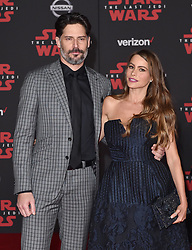 "©AXELLE/BAUER-GRIFFIN.COM World Premiere of ""Star Wars: The Last Jedi"". Shrine Auditorium, Los Angeles, CA. EVENT December 9, 2017. 09 Dec 2017 Pictured: Joe Manganiello,Sofia Vergara. Photo credit: AXELLE/BAUER-GRIFFIN/MEGA TheMegaAgency.com +1 888 505 6342"