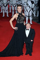"""Star Wars """"The Last Jedi"""" European premiere at the Royal Albert Hall in London, UK. 12 Dec 2017 Pictured: Jimmy Vee. Photo credit: MEGA TheMegaAgency.com +1 888 505 6342"""
