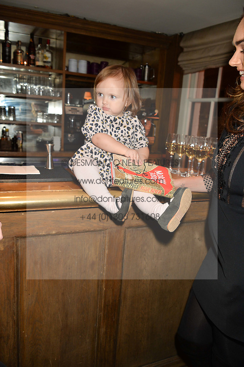 SOPHIA RUTLAND daughter of Tamara Ecclestone at a party to celebrate the publication of The Stylist by Rosie Nixon held at Soho House, London on 10th February 2016.