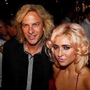 NLD/Amsterdam/20100913 - Verjaardagsfeestje Modemeisjes met een missie, Adam Curry met dochter Christina Curry