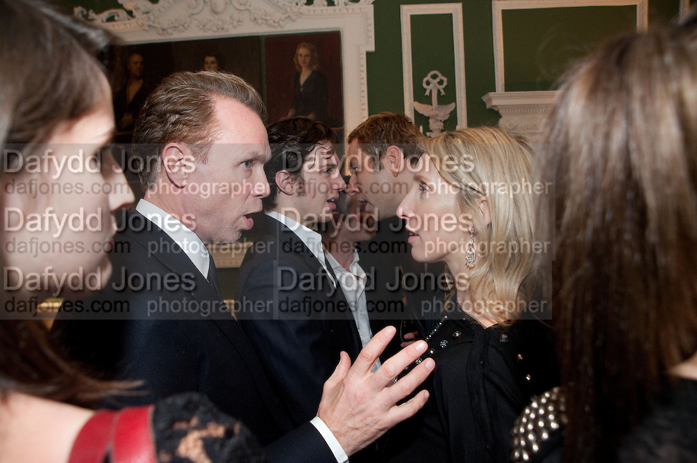 Gary Kemp; AAron Johnson; David Walliams; Sam Taylor-Wood , QUINTESSENTIALLY HOST THE  AFTER-PARTY OF ÔNOWHERE BOYÕÕ  at The House of St Barnabas in Soho Sq. London. 26 November 2009. The premiere and party were held in support of MaggieÕs cancer care charity.<br /> Gary Kemp; AAron Johnson; David Walliams; Sam Taylor-Wood , QUINTESSENTIALLY HOST THE  AFTER-PARTY OF 'NOWHERE BOY''  at The House of St Barnabas in Soho Sq. London. 26 November 2009. The premiere and party were held in support of Maggie's cancer care charity.