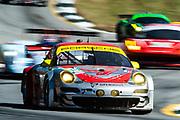 September 30-October 1, 2011: Petit Le Mans at Road Atlanta. 045 Joerg Bergmeister, Patrick Long, Patrick Pilet, Porsche 911 GT3 RSR, Flying Lizard Motorsports