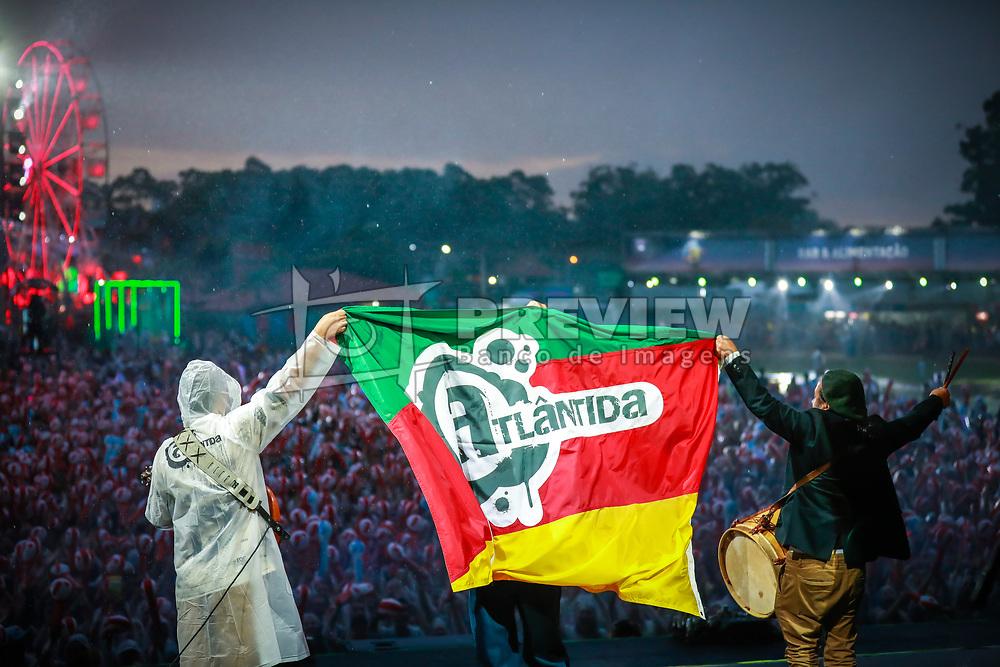 Neto Fagundes durante a 25ª edição do Planeta Atlântida. O maior festival de música do Sul do Brasil ocorre nos dias 31 Janeiro e 01 de fevereiro, na SABA, praia de Atlântida, no Litoral Norte do Rio Grande do Sul. FOTO: <br /> Diego Vara/ Agência Preview