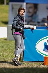 MÜNCHEN - Pferd International Dressur 2021<br /> <br /> THEODORESCU Monica (Bundestrainerin Dressur)<br /> Impression am Rande<br /> Preis der Liselott und Klaus Rheinberger Stiftung<br /> CDI 4* Grand Prix Special - international<br /> <br /> München-Riem, Olympia Reitanlage<br /> 15. May 2021<br /> © www.sportfotos-lafrentz.de/Stefan Lafrentz