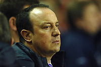 Photo: Paul Greenwood.<br />Liverpool v Arsenal. The FA Cup. 06/01/2007. Liverpool manager Rafael Benitez in pensive mood
