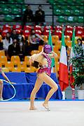 Terza Prova Regular Season Ginnastica Ritmica Serie A1 Desio 15 Ottobre 2020 Camilla De Luca dell' Aurora Fano gareggia al campionato Italiano di Ginnastica Ritmica il 15 Ottobre 2020 a Desio.