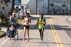 Falmouth Road Race Sambu passes elte women and disabled on way to victory