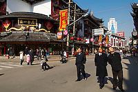 Chine. Shanghai. Bazar  Lao Jie ou Chenghuang Miao. // China. Shanghai. Lao Jie or Chenghuang Miao bazar.