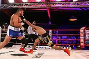 BOXEN: Universum Boxpromotion, Hamburg, 19.12.2020<br /> Schwergewicht: Jose Angel Larduet (CUB) - Marcos Antonio Aumada (ARG)<br /> © Torsten Helmke