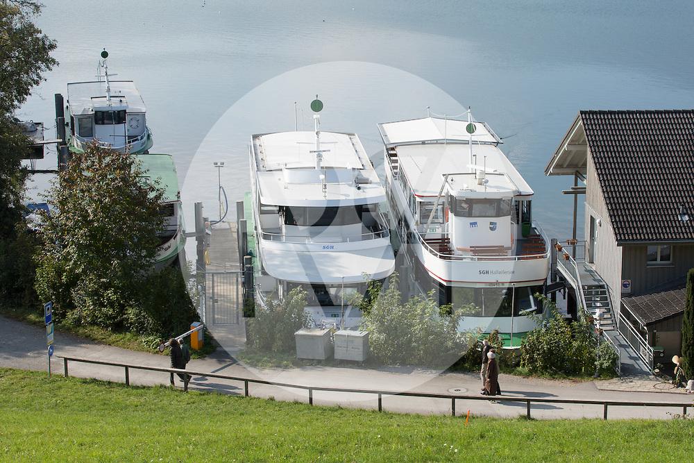 SCHWEIZ - MEISTERSCHWANDEN - SGH Werft: L-R MS Hallwil, MS Seetal, MS Brestenberg - 20. Oktober 2015 © Raphael Hünerfauth - http://huenerfauth.ch