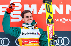 17.12.2017, Gross Titlis Schanze, Engelberg, SUI, FIS Weltcup Ski Sprung, Engelberg, im Bild Sieger Richard Freitag (GER) // Winner Richard Freitag of Germany during Mens FIS Skijumping World Cup at the Gross Titlis Schanze in Engelberg, Switzerland on 2017/12/17. EXPA Pictures © 2017, PhotoCredit: EXPA/ JFK
