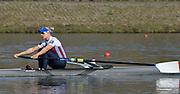 Caversham  Great Britain.<br /> Kristina STILLER,<br /> 2016 GBR Rowing Team Olympic Trials GBR Rowing Training Centre, Nr Reading  England.<br /> <br /> Tuesday  22/03/2016 <br /> <br /> [Mandatory Credit; Peter Spurrier/Intersport-images]