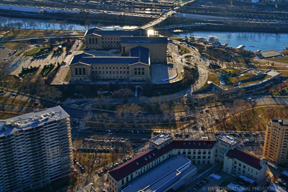 Philadelphia Museum of Art (Aerial 2)