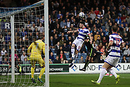 Queens Park Rangers defender Jack Robinson (18) during the EFL Sky Bet Championship match between Queens Park Rangers and Brighton and Hove Albion at the Loftus Road Stadium, London, England on 7 April 2017.