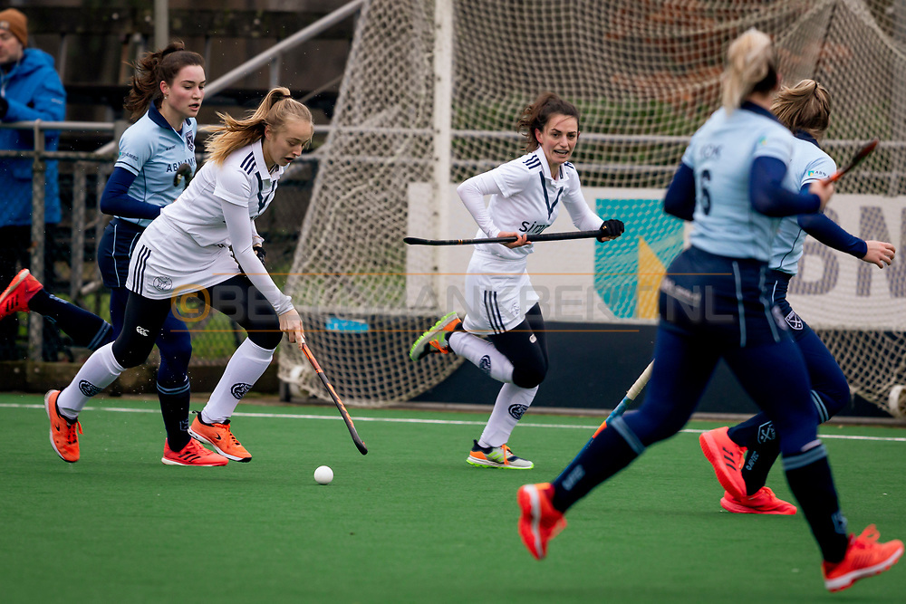 LAREN -  Hockey Hoofdklasse Dames: Laren v Pinoké, seizoen 2020-2021. Foto: