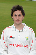 Nick James. Glamorgan county cricket club official photocall at the Swalec Stadium, Sophia Gardens in Cardiff on Wed 13th April 2011. pic by Andrew Orchard