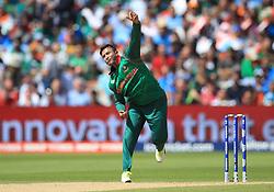 Bangladesh's Shakib Al Hasan during the ICC Champions Trophy, semi-final match at Edgbaston, Birmingham.
