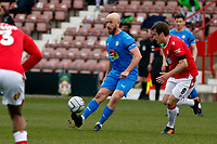 Paddy Madden. Wrexham AFC 0-3 Stockport County FC. Vanarama National League. The Racecourse Ground. 10.4.21
