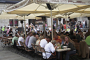 Eating out, Covent Garden, London