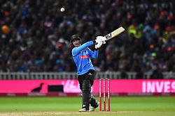 Sussex Sharks' Michael Burgess bats during the Vitality T20 Blast Final on Finals Day at Edgbaston, Birmingham.