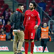 Turkey's supporters during their UEFA Euro 2016 qualification Group A soccer match Turkey betwen Kazakhstan at AliSamiYen Arena in Istanbul November 16, 2014. Photo by Kurtulus YILMAZ/TURKPIX