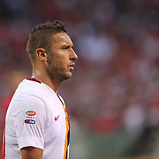 Francesco Totti, AS Roma, during the Liverpool Vs AS Roma friendly pre season football match at Fenway Park, Boston. USA. 23rd July 2014. Photo Tim Clayton
