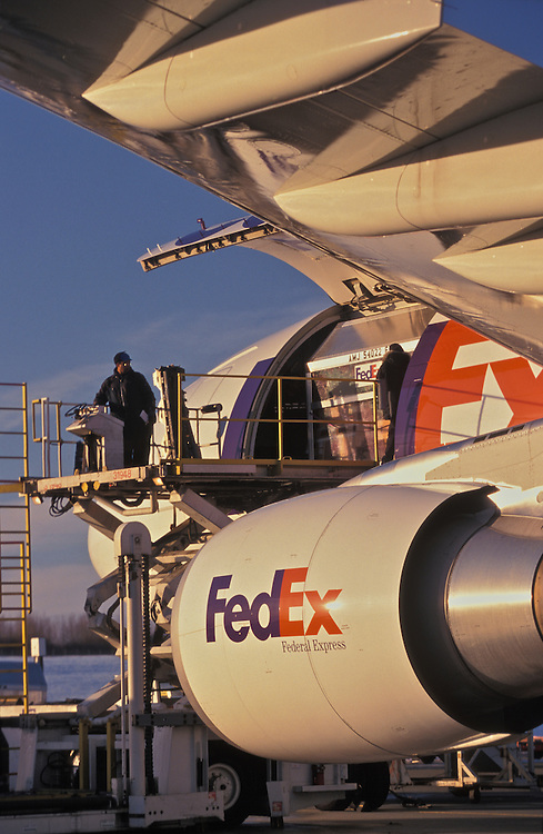 Fed Ex, Ted Stevens International Airport, Anchorage, Alaska