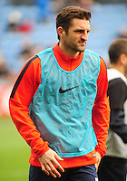 Coventry City's Sam Ricketts during the pre-match warm-up <br /> <br /> Photographer Andrew Vaughan/CameraSport<br /> <br /> Football - The Football League Sky Bet League One - Coventry City v Fleetwood Town - Saturday 27th February 2016 - Ricoh Stadium - Coventry   <br /> <br /> © CameraSport - 43 Linden Ave. Countesthorpe. Leicester. England. LE8 5PG - Tel: +44 (0) 116 277 4147 - admin@camerasport.com - www.camerasport.com