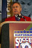 28 August 2006: Philip Anschutz during his Hall of Fame induction speech. The National Soccer Hall of Fame Induction Ceremony was held at the National Soccer Hall of Fame in Oneonta, New York.